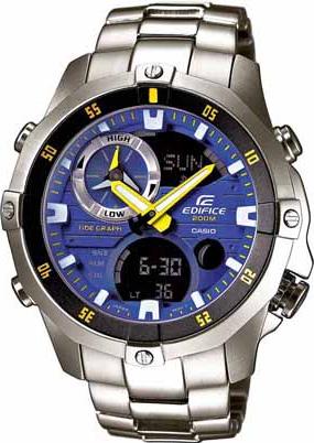 Zegarek Casio EDIFICE EMA-100D-2AVUEF - duże 1