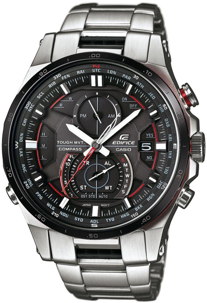 Zegarek męski Casio EDIFICE edifice premium EQW-A1200DB-1AER - duże 1