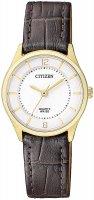 Zegarek damski Citizen leather ER0203-00B - duże 1