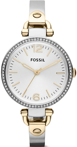 Zegarek damski Fossil ladies dress ES3250 - duże 1