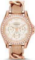Zegarek damski Fossil riley ES3466 - duże 1