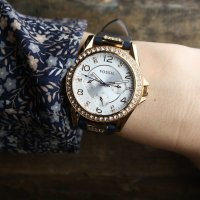 Fossil ES3887 damski zegarek Riley pasek