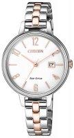 Zegarek damski Citizen elegance EW2446-81A - duże 1