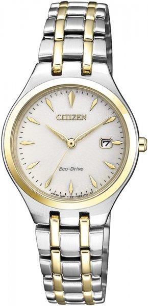 Zegarek damski Citizen elegance EW2484-82B - duże 1