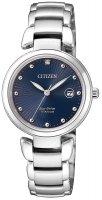 Zegarek damski Citizen titanium EW2500-88L - duże 1