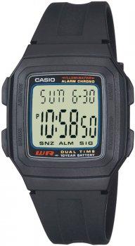 zegarek męski Casio Retro F-201W-1AEF