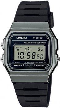 zegarek męski Casio Retro F-91WM-1BEF