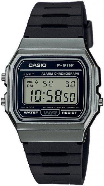 Zegarek Casio F-91WM-1BEF - duże 1