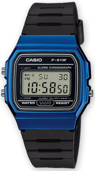 Zegarek Casio F-91WM-2AEF - duże 1