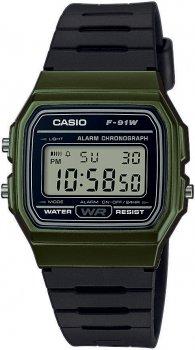 zegarek męski Casio Retro F-91WM-3AEF