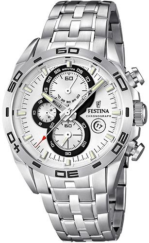 Zegarek męski Festina chronograf F16654-1 - duże 1