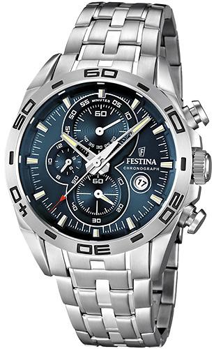 Zegarek męski Festina chronograf F16654-2 - duże 1