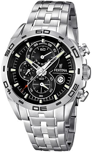 Zegarek męski Festina chronograf F16654-4 - duże 1