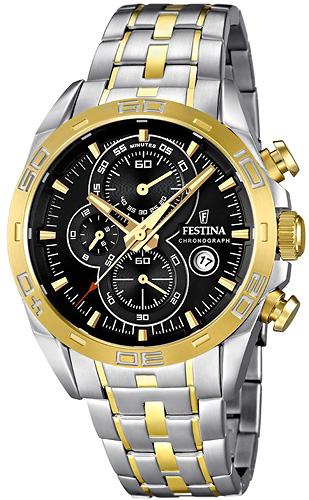F16655-5 - zegarek męski - duże 3