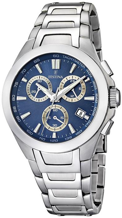Zegarek męski Festina męskie F16678-5 - duże 3