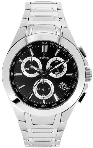 Zegarek męski Festina chronograf F16678-6 - duże 1