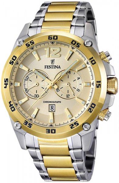 Zegarek męski Festina chronograf F16681-1 - duże 1