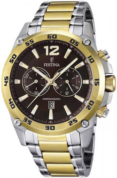 F16681-3 - zegarek męski - duże 3