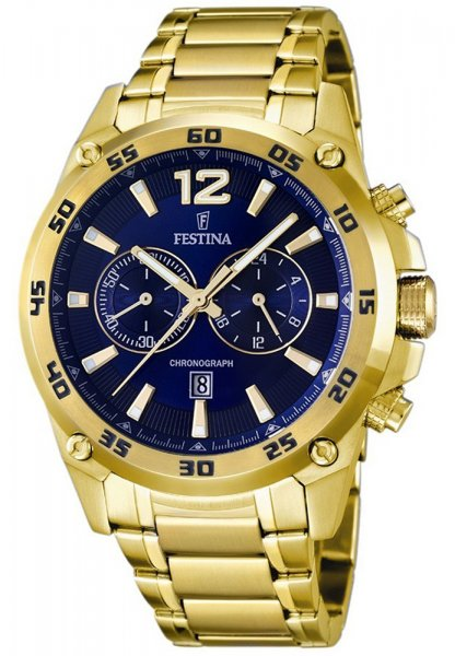 F16806-2 - zegarek męski - duże 3