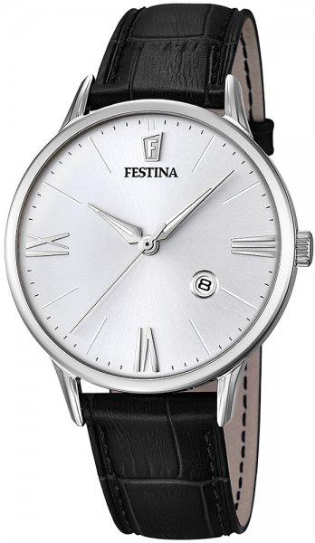 Zegarek męski Festina classic F16824-1 - duże 3