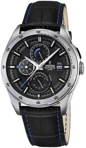 F16877-4 - zegarek męski - duże 3
