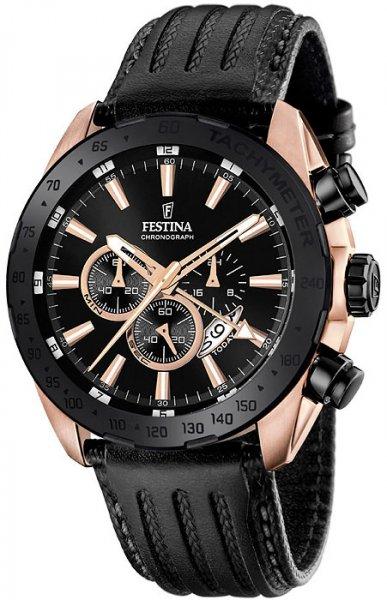 F16900-1 - zegarek męski - duże 3