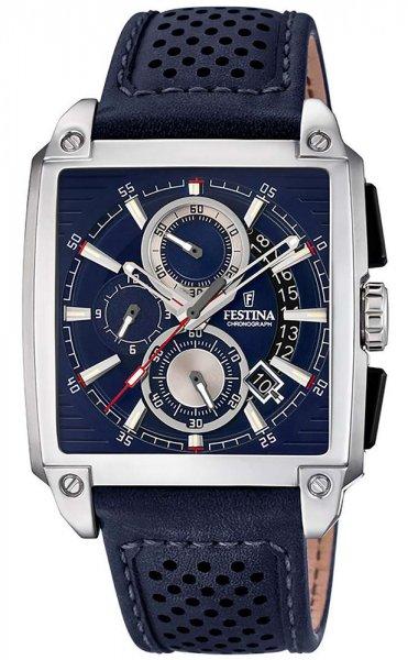 F20265-2 - zegarek męski - duże 3