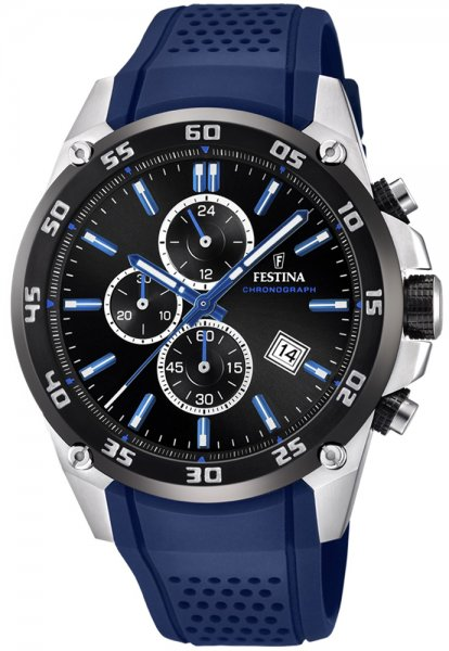 F20330-8 - zegarek męski - duże 3