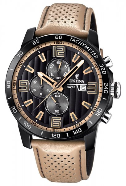 F20339-1 - zegarek męski - duże 3