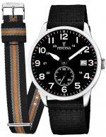 Zegarek męski Festina retro F20347-3 - duże 1