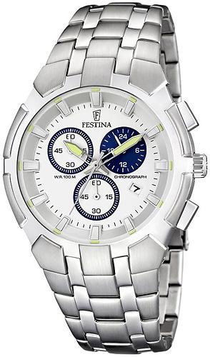 F6812-1 - zegarek męski - duże 3