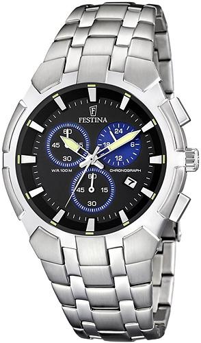 Zegarek męski Festina chronograf F6812-3 - duże 1