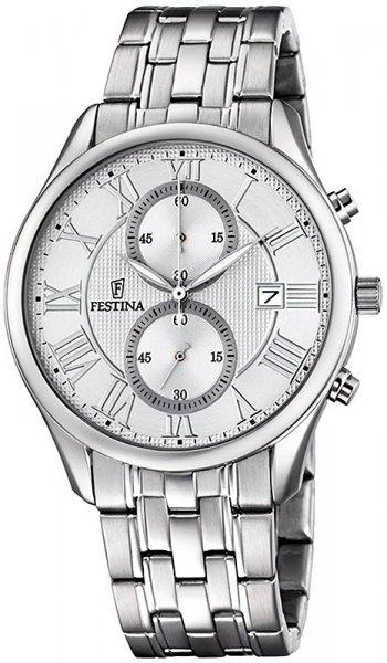 F6854-1 - zegarek męski - duże 3