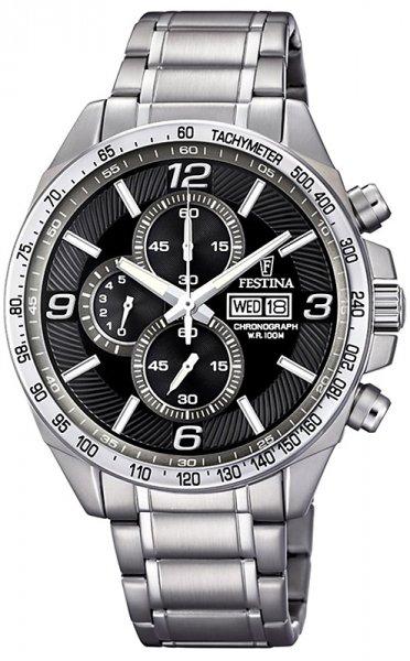 F6861-4 - zegarek męski - duże 3