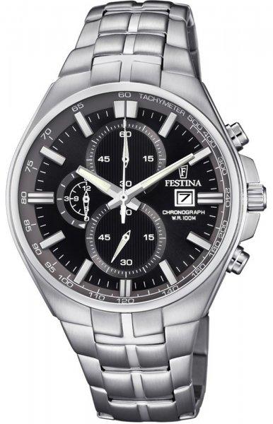 F6862-4 - zegarek męski - duże 3