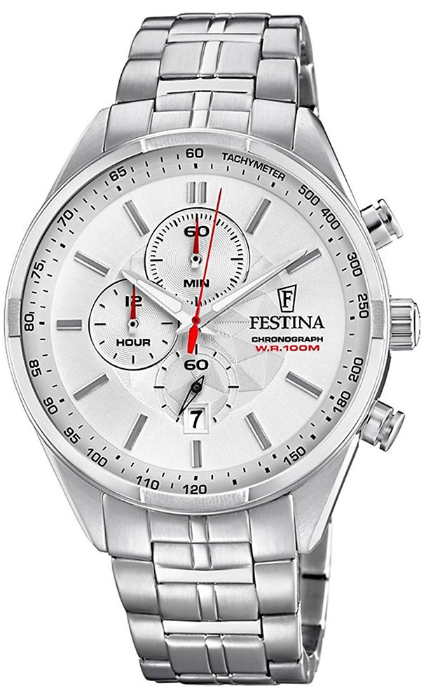 F6863-1 - zegarek męski - duże 3