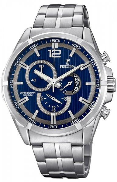 F6865-3 - zegarek męski - duże 3