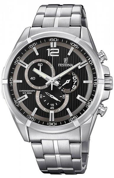 F6865-4 - zegarek męski - duże 3