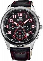 Zegarek męski Orient sporty quartz FKV01003B0 - duże 1