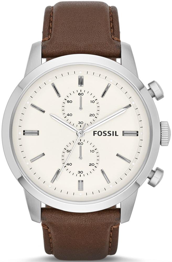 Zegarek męski Fossil townsman FS4865 - duże 1