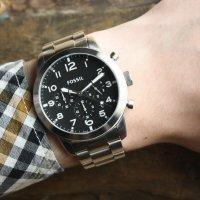 zegarek Fossil FS5141 PILOT 54 męski z chronograf Pilot 54