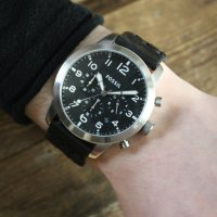Zegarek męski Fossil pilot 54 FS5181 - duże 3
