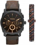 Zegarek męski Fossil machine FS5251SET - duże 1