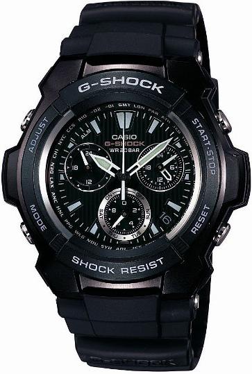 G-Shock G-1000H-1AER G-Shock Black Burner