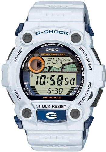 G-7900A-7ER - zegarek męski - duże 3