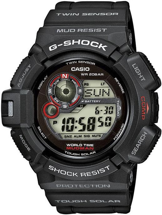G-Shock G-9300-1ER G-SHOCK Master of G MUDMAN