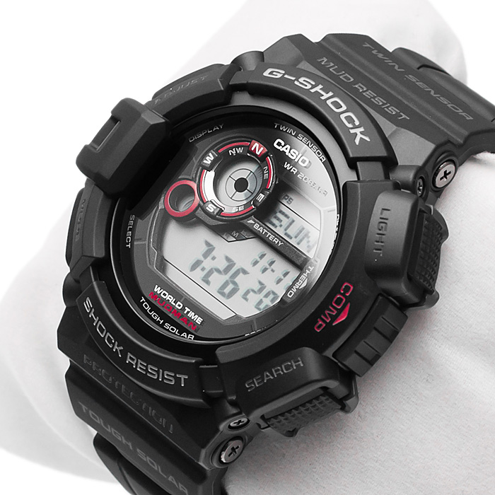 Casio G-9300-1ER MUDMAN zegarek męski - Sklep ZEGAREK.NET bdab1da2999f