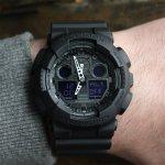 Zegarek męski Casio G-SHOCK g-shock original GA-100-1A1ER - duże 5