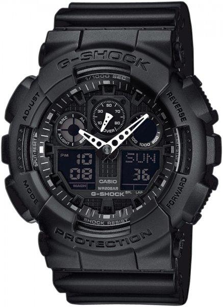 Zegarek Casio G-SHOCK GA-100-1A1ER - duże 1
