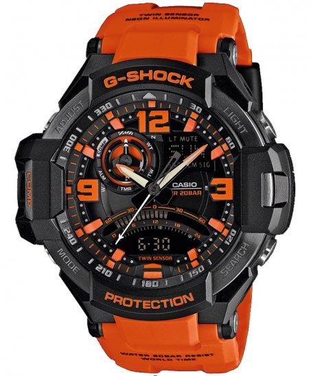 GA-1000-4AER - zegarek męski - duże 3